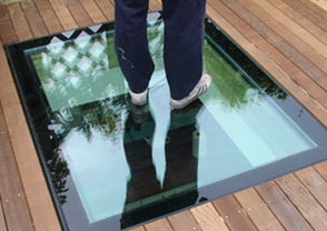Walk On Rooflights Walk On Glass Roof Light Flat
